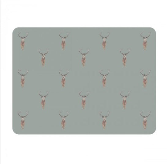 PMC2901 Sophie Allport Placemats Set Of 4 Highland Stag