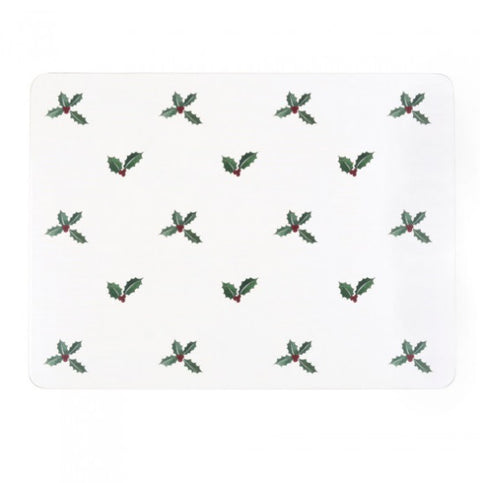 Sophie Allport PMC5001 Placemats (set of 4) Christmas Holly & Berry