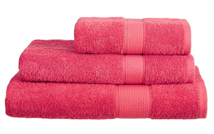Harwoods Imperial Raspberry Towels