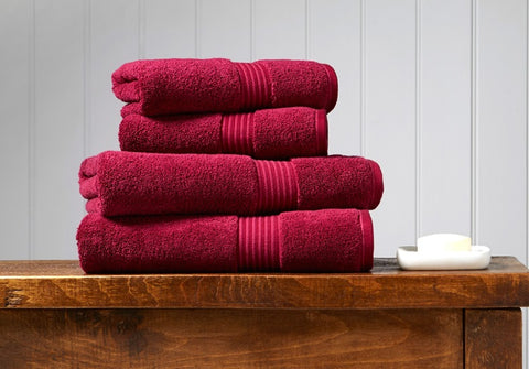 Christy Supreme Raspberry 650gsm Towels