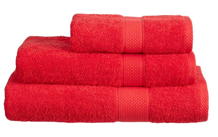 Harwoods Imperial Red Towels