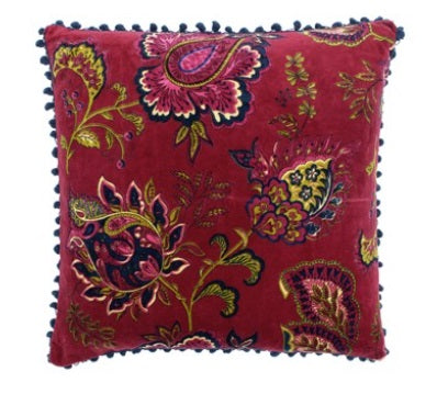 Riva Paoletti Malisa Pomegranate 50cm x 50cm Cushion