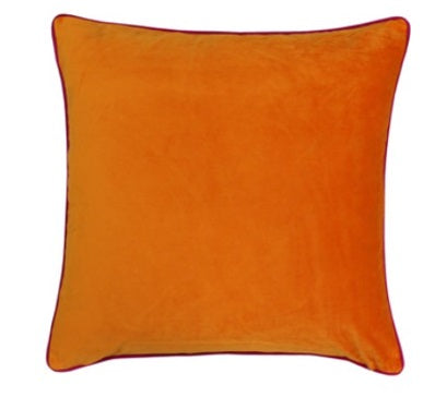 Riva Paoletti Meridian Clementine/Hot Pink 55cm x 55cm Cushion