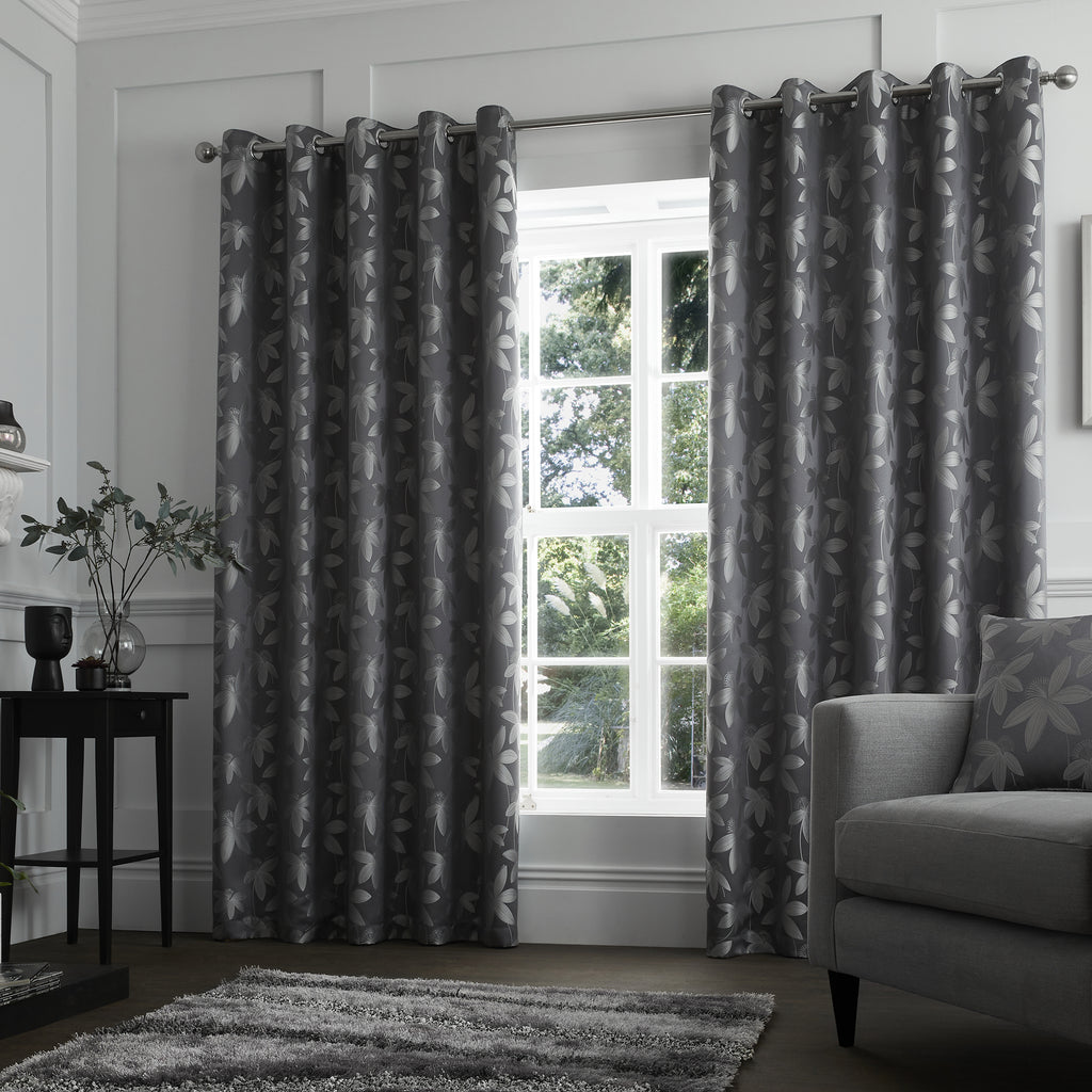 Curtina Romolo Eyelet Lined Curtains