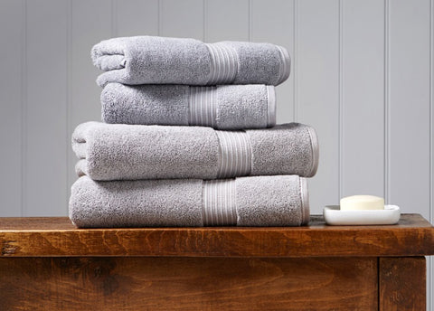 Christy Supreme Silver 650gsm Towels
