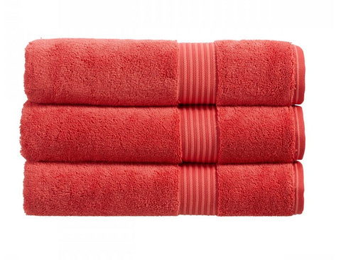 Christy Supreme Coral 650gsm Towels
