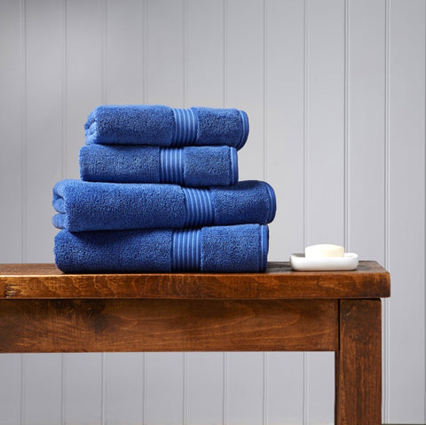 Christy Supreme Deep Sea 650gsm Towels