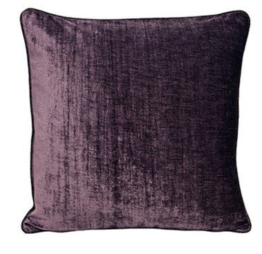 Riva Paoletti Wellesley Plum 45cm x 45cm Cushion