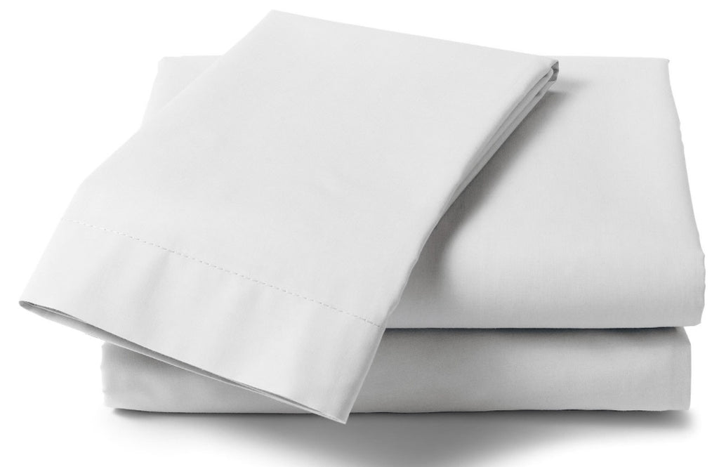 Extra Large Percale Pillowcase Pairs 22 x31  White