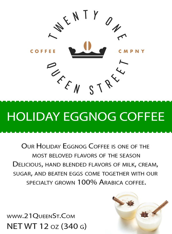 Holiday Eggnog Coffee