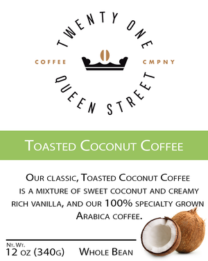 Toasted Coconut Coffee