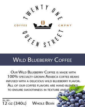 Wild Blueberry Coffee