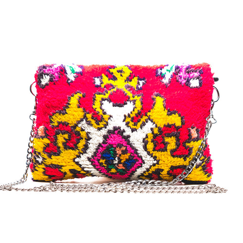 Red and Pink Clutch