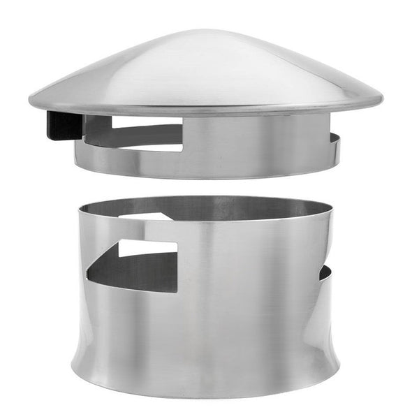 Smokeware Vented Chimney Cap For Kamado Joe Bbq Amp Smoke