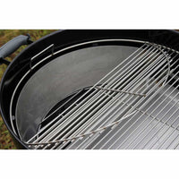 "22"" Two-Zone Cooking Grate with EasySpin™"