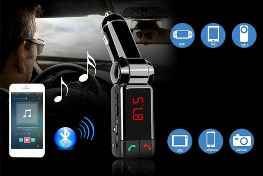 Bluetooth Hands-Free Car Kit