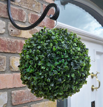 Small Artificial Hanging Topiary Ball