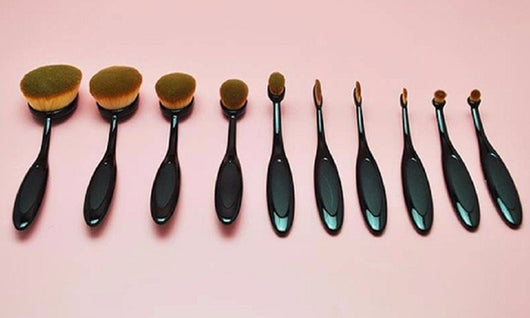 Oval Brush Set (10 piece)