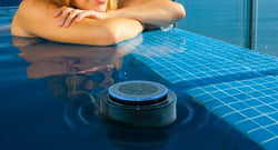 Waterproof Floating Pool & Shower Suction Bluetooth Speaker W/ Handsfree