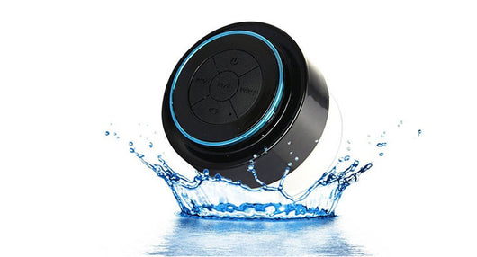 Water-resistant Bluetooth Speaker with Microphone by Mobileheads