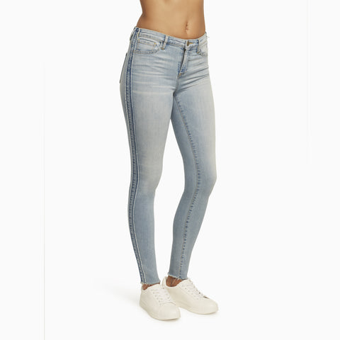 Designer Light Wash Denim with Skinny Ankle Jeans and Tight Slim Fit