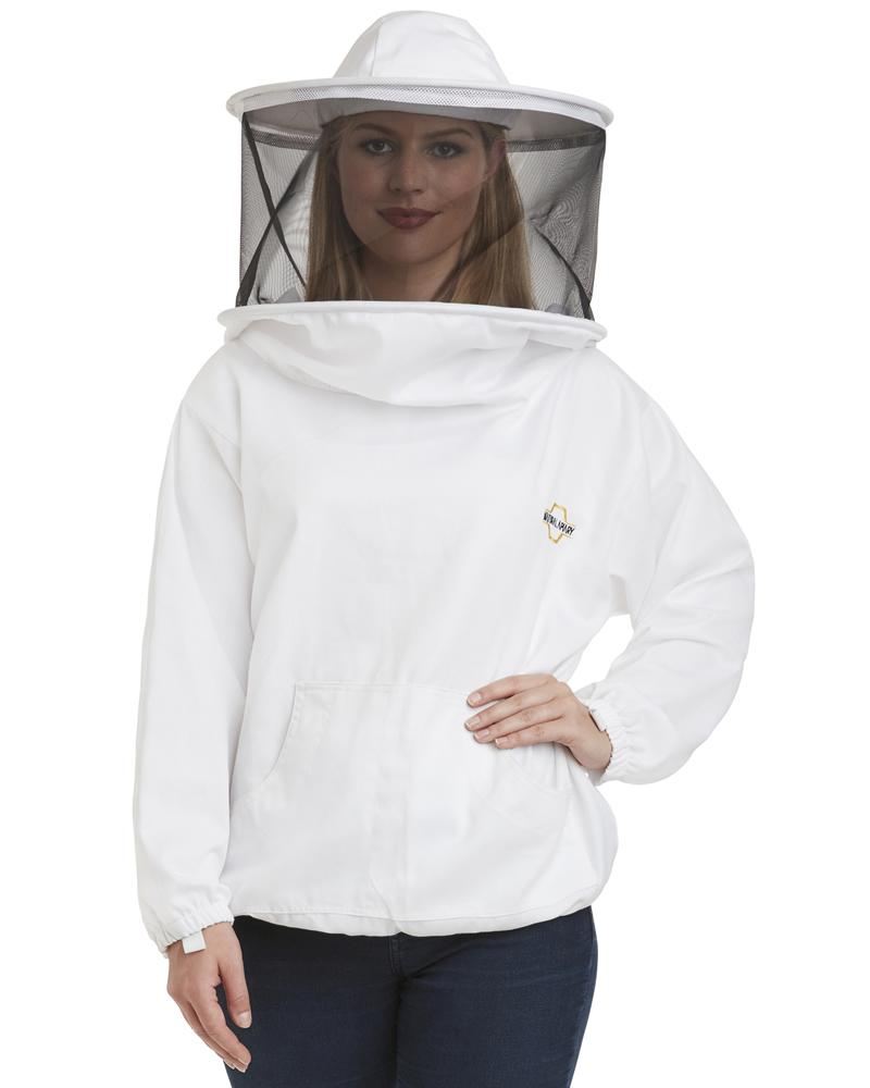 Beekeeping Smock – Polycotton Jacket – Non-Flammable Round or Fencing Veil