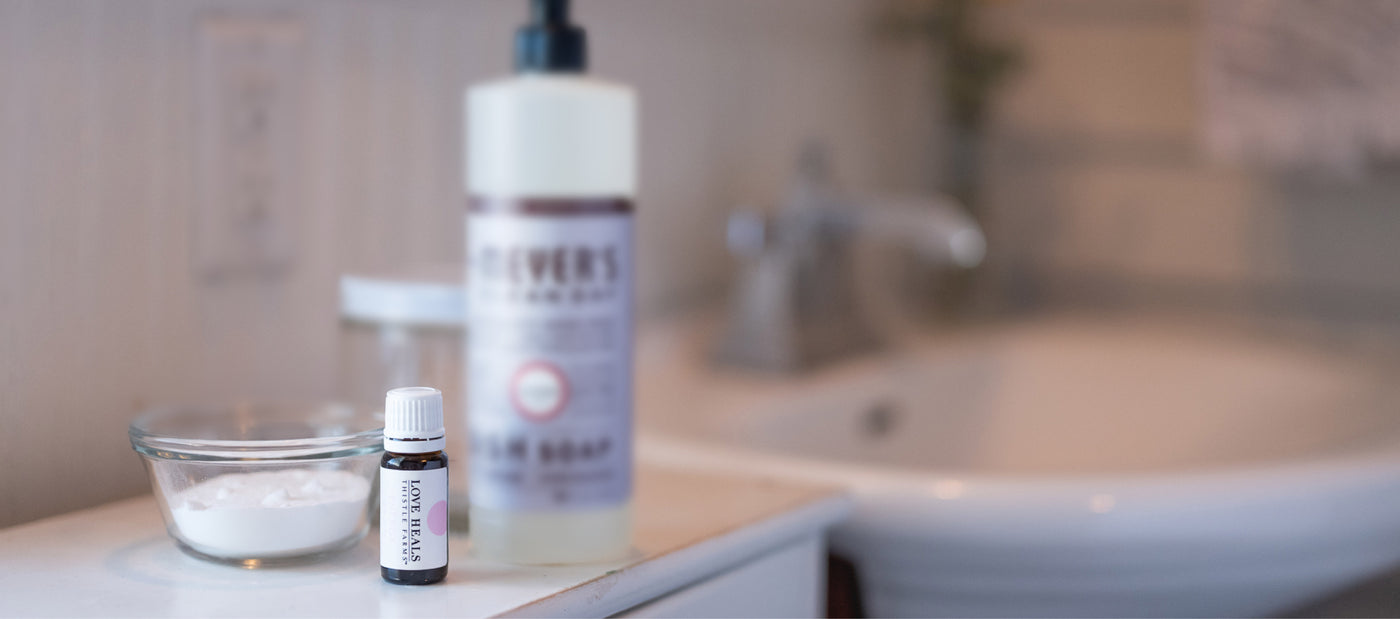 Introducing Natural Cleaners Made With Thistle Farms Essential Oils