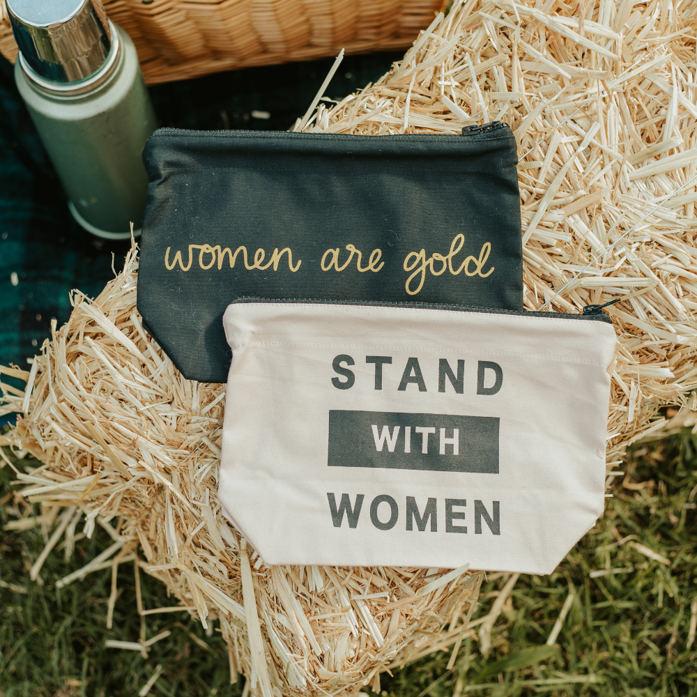 Stand With Women Toiletry Bag