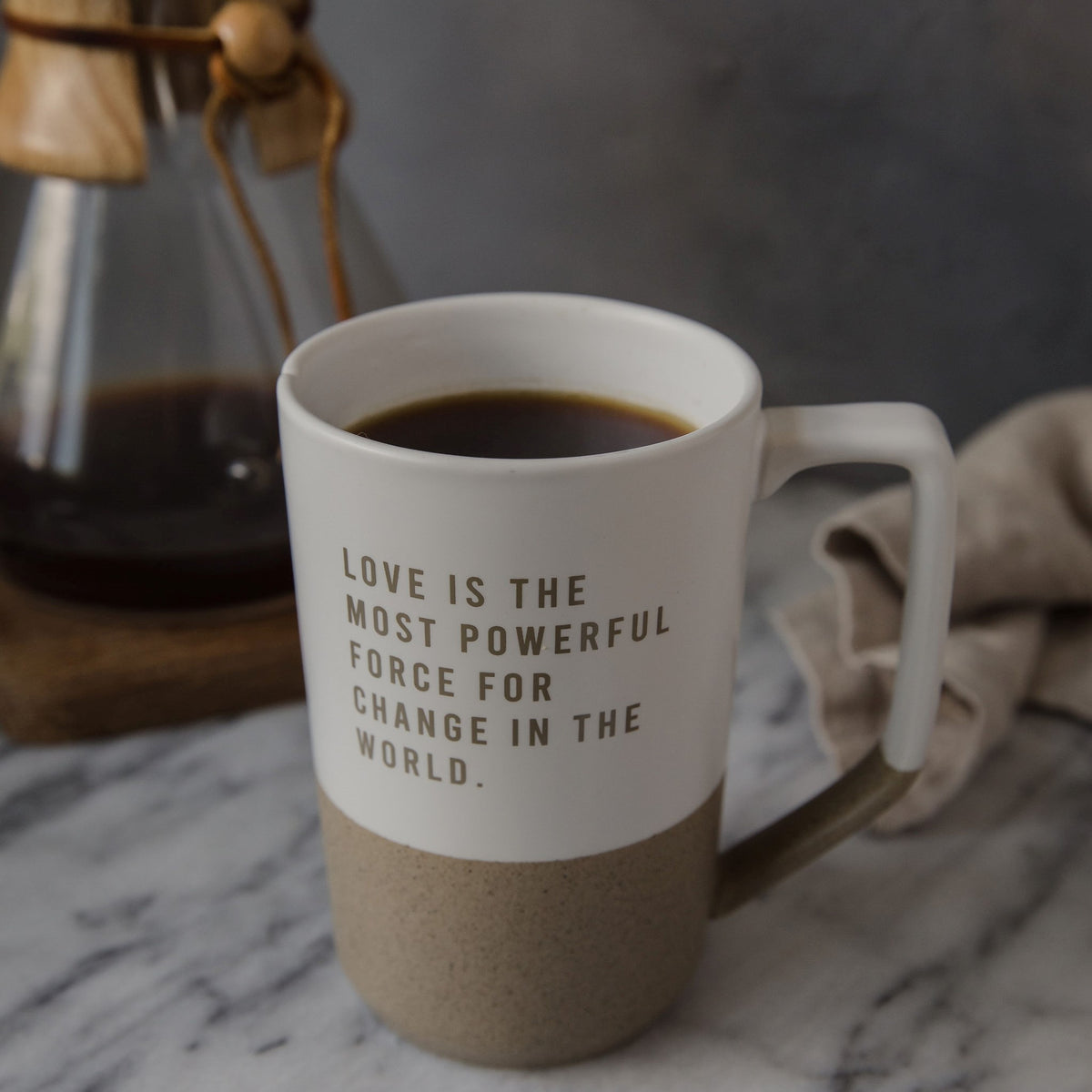 Love Is the Most Powerful Force For Change Mug