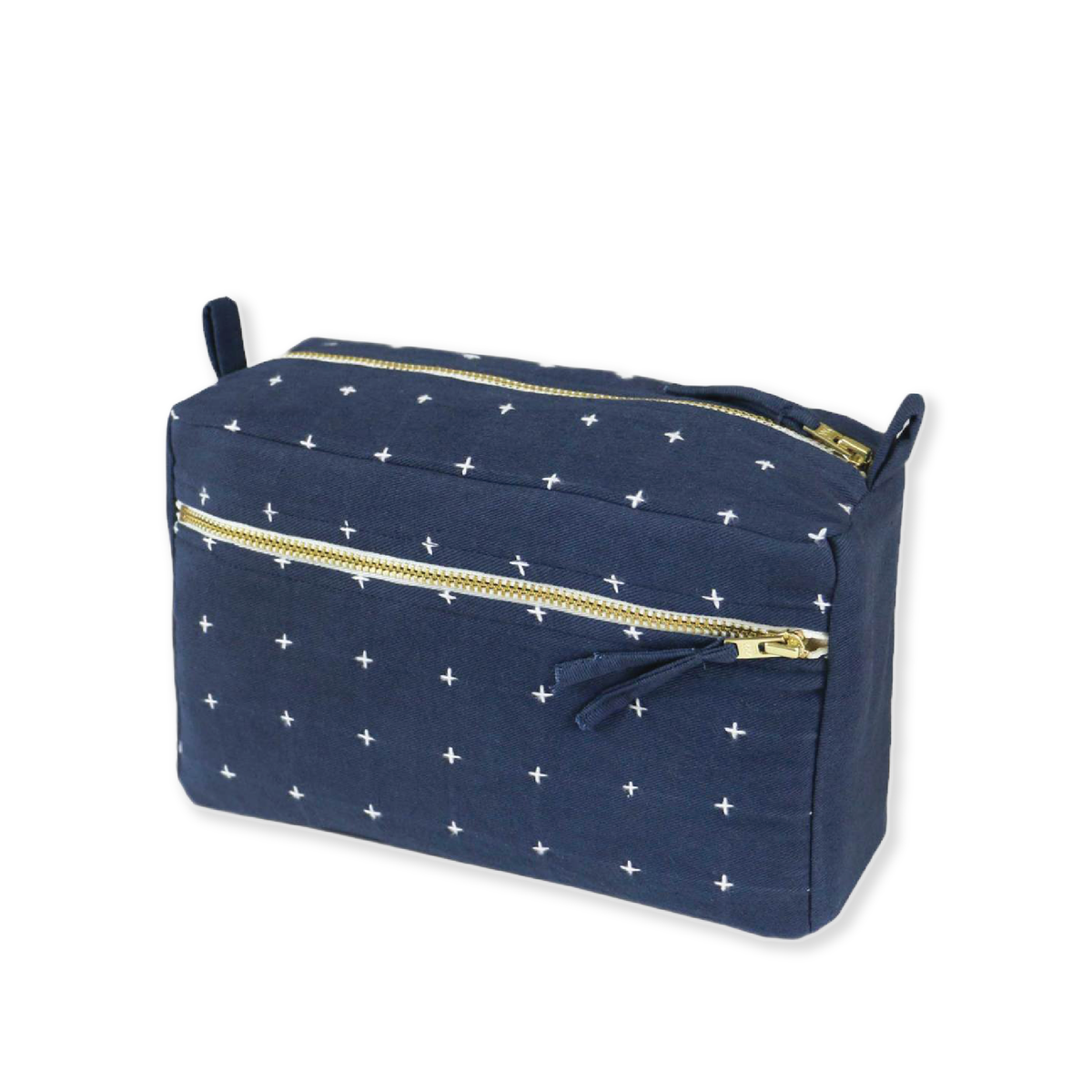 Cross Stitch Compact Toiletry Bag