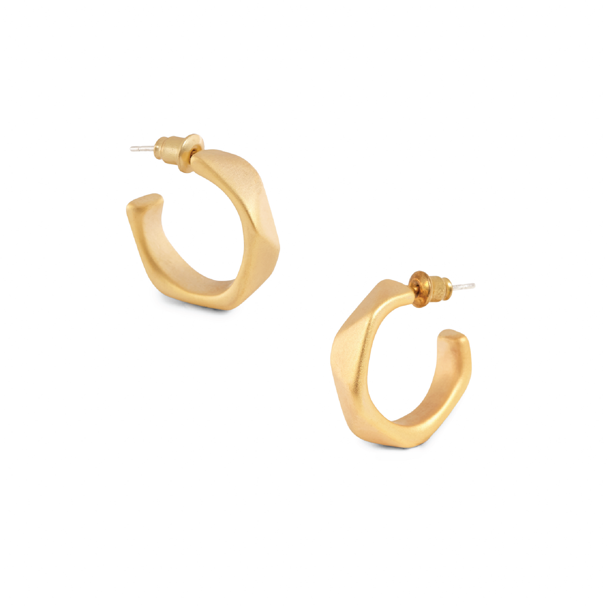 Cassidy Gold Hoop Earrings