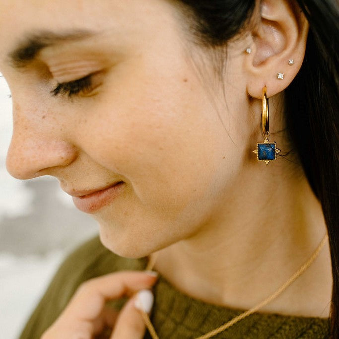 Contented Earrings