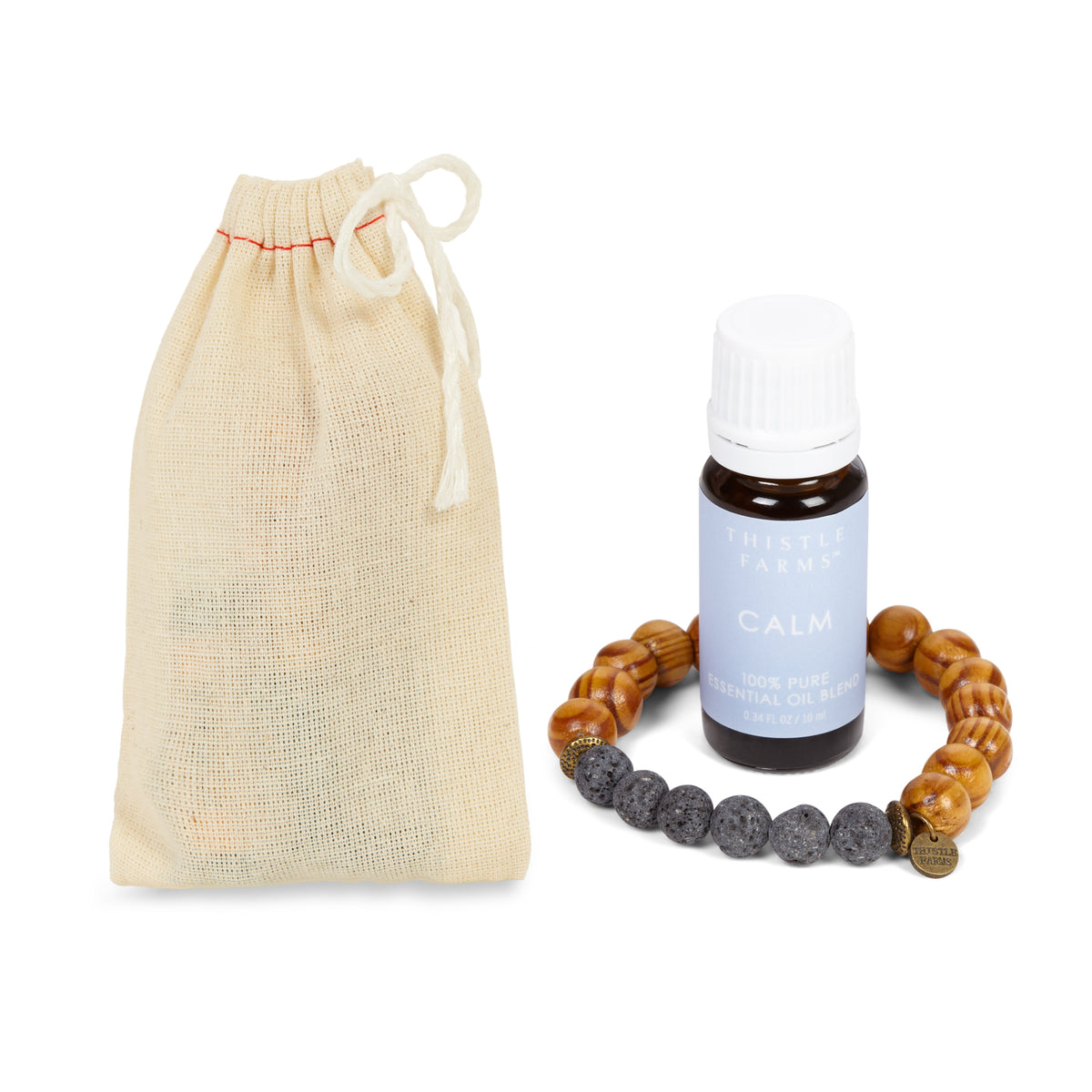 Essential Oil & Diffuser Bracelet Duo