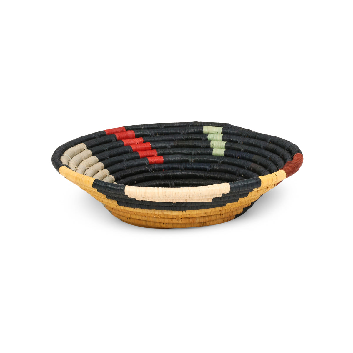 Mod Abstract Round Basket