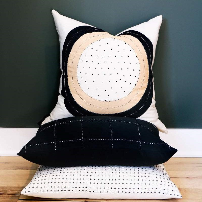 Eclipse Dot Pillow Cases