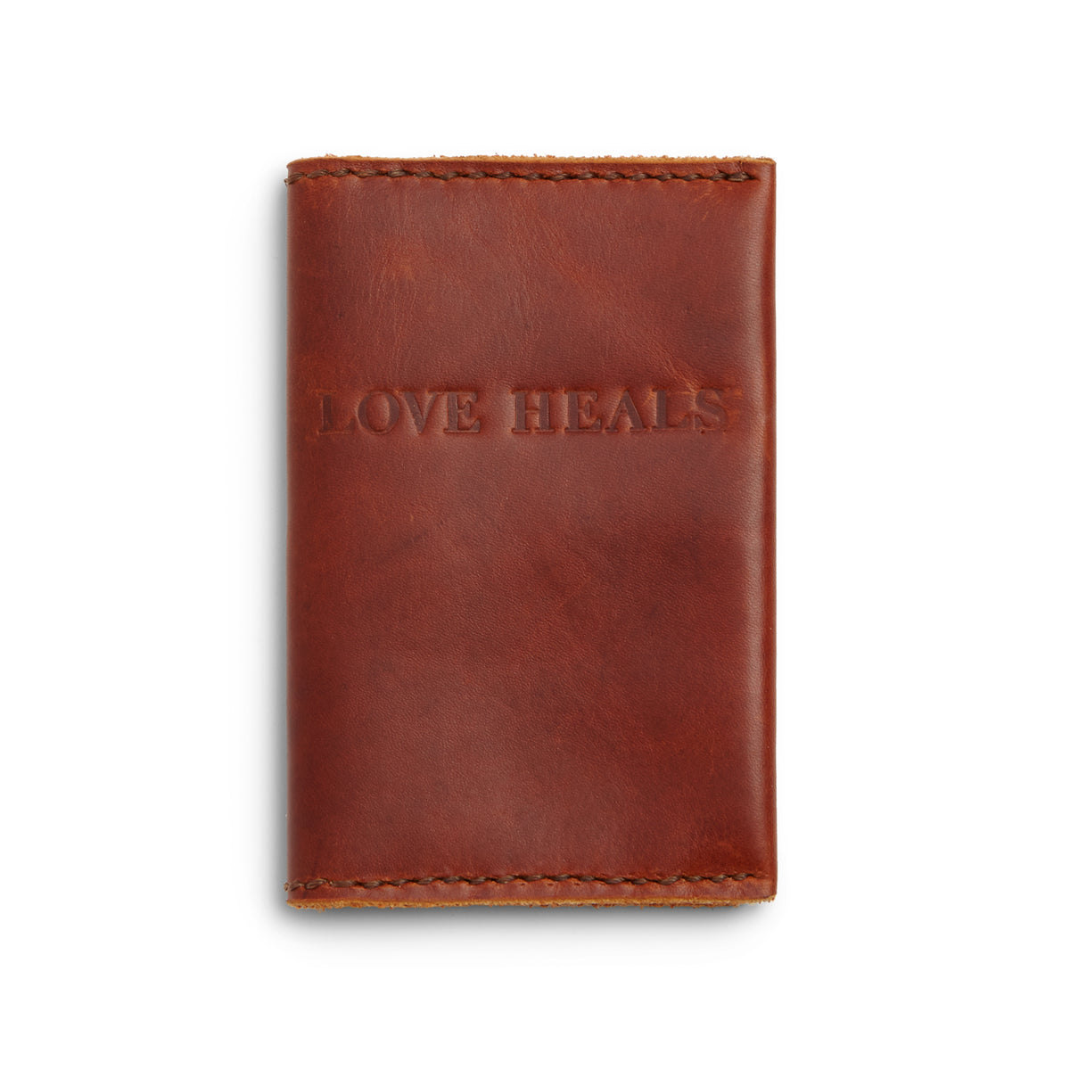 Love Heals Passport Wallet