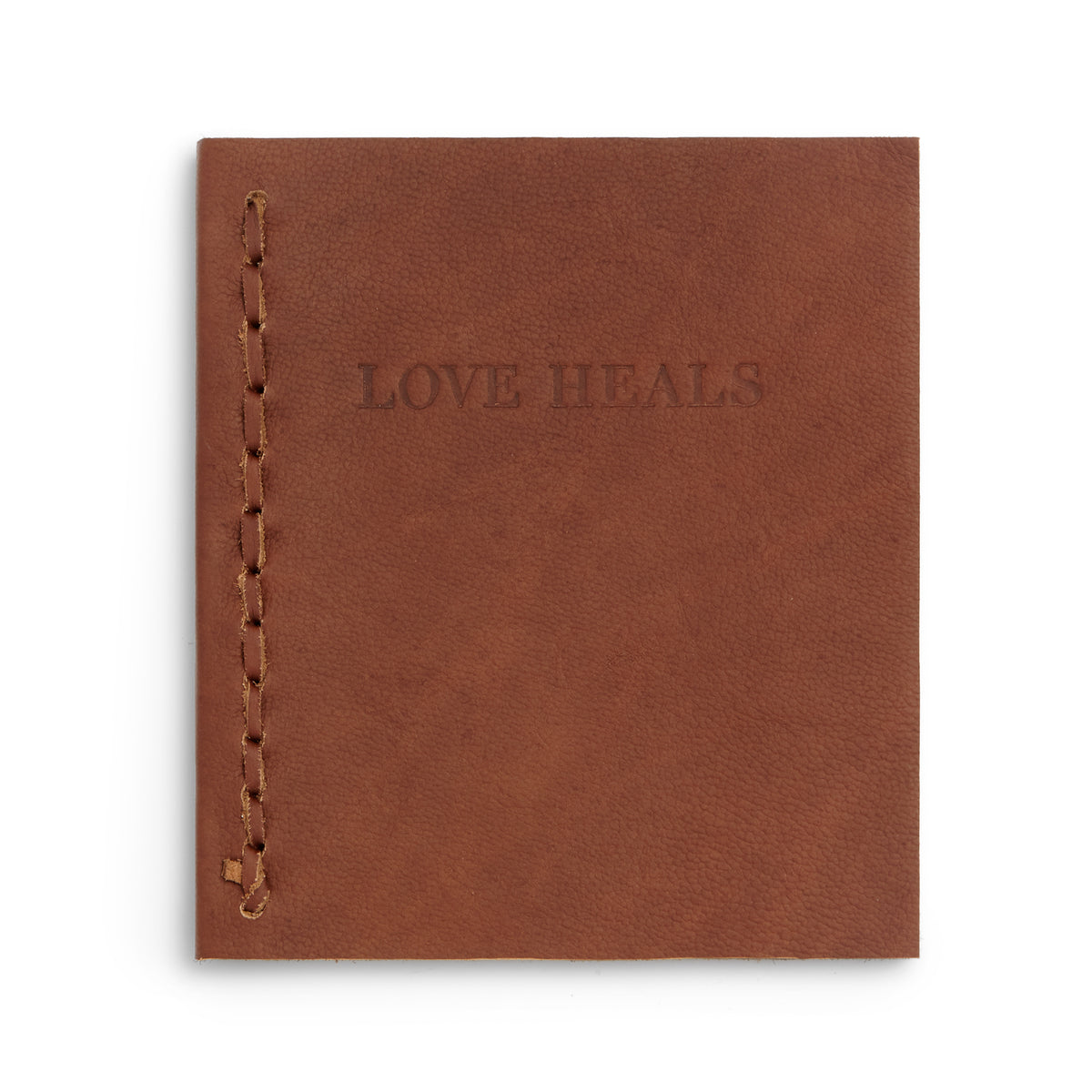 Love Heals Leather Journal