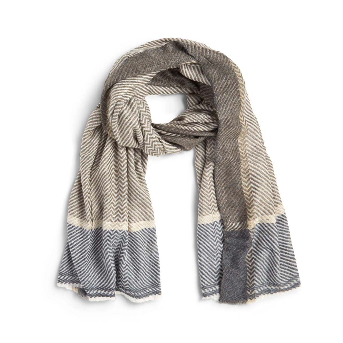 Mixed Cashmere Scarf