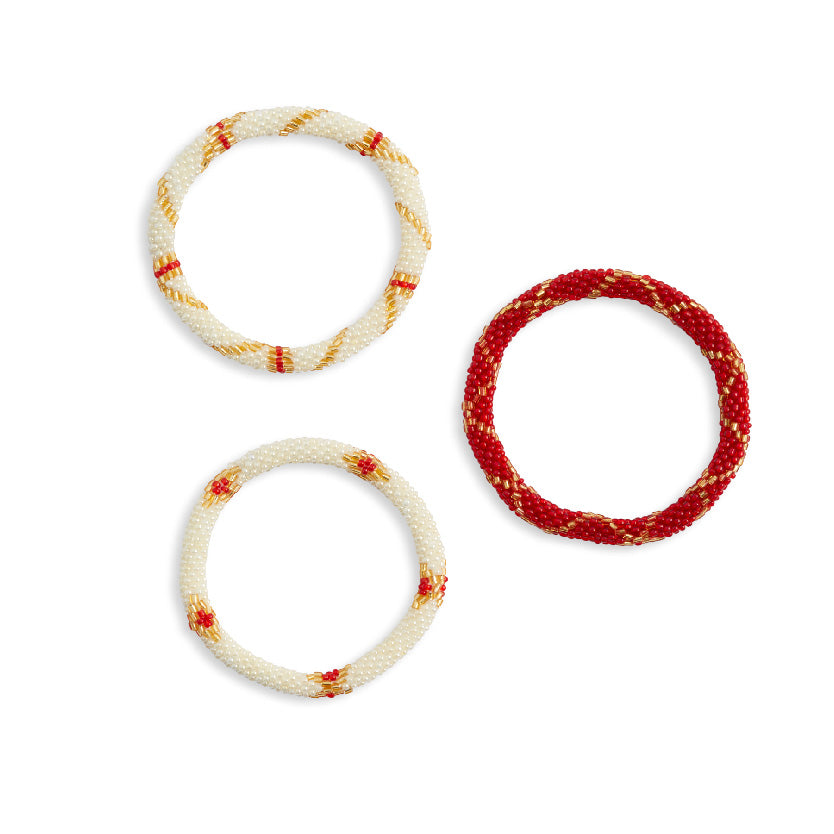 Red Mountain Bracelet Set