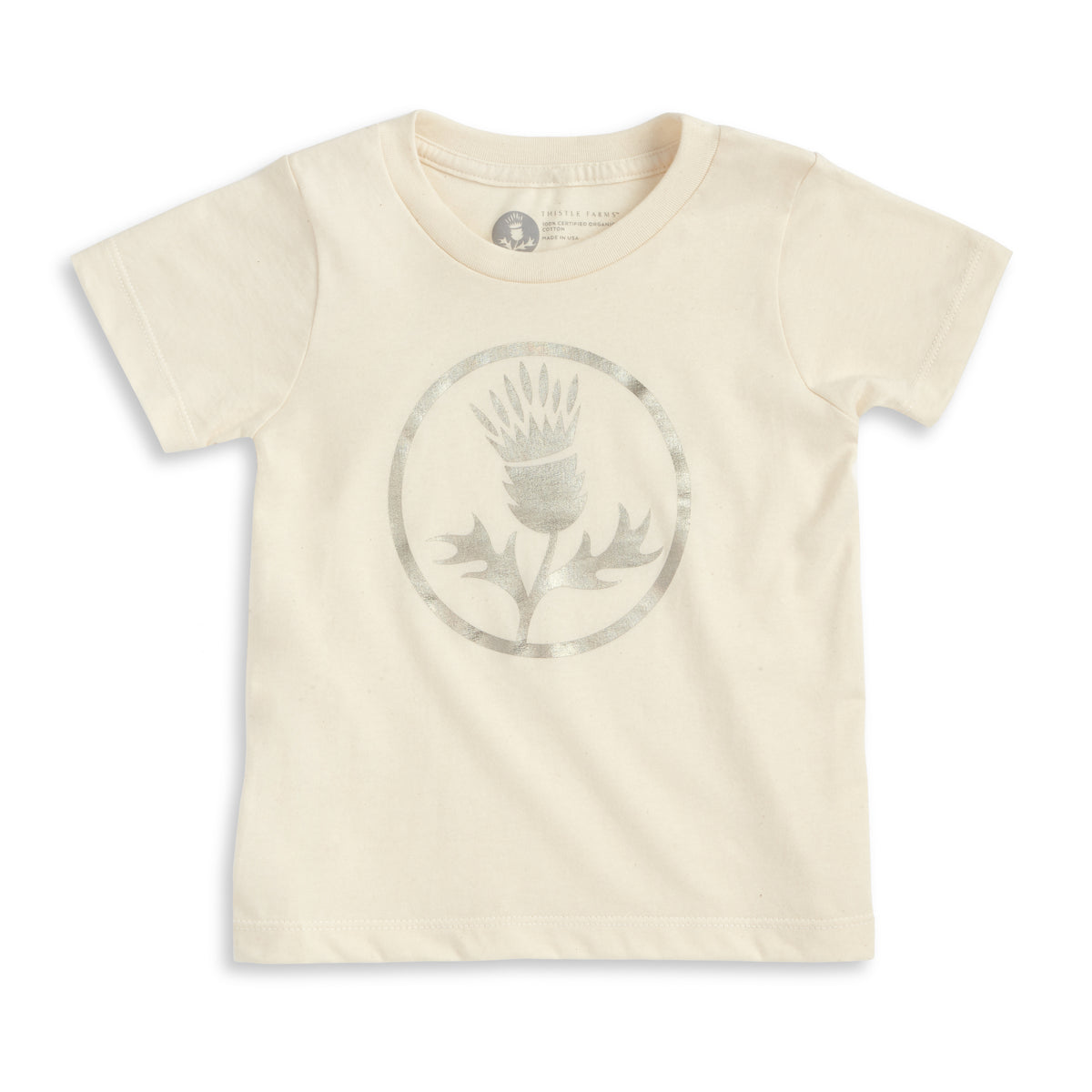 Kids Organic Holographic Thistle Tee