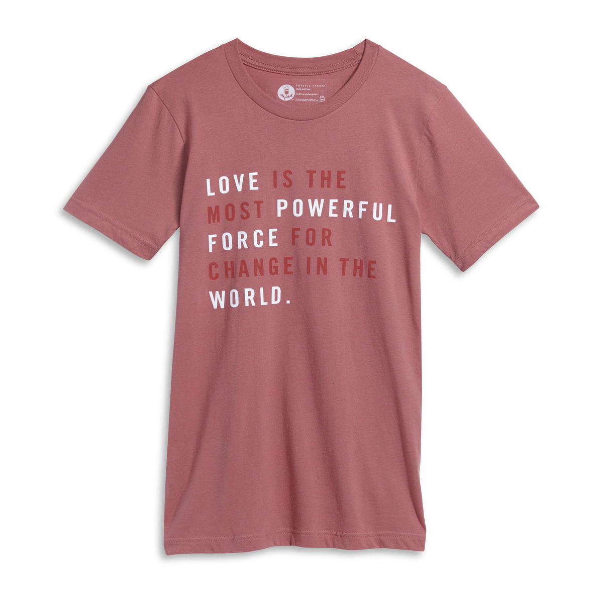 Love is the Most Powerful Force Tee