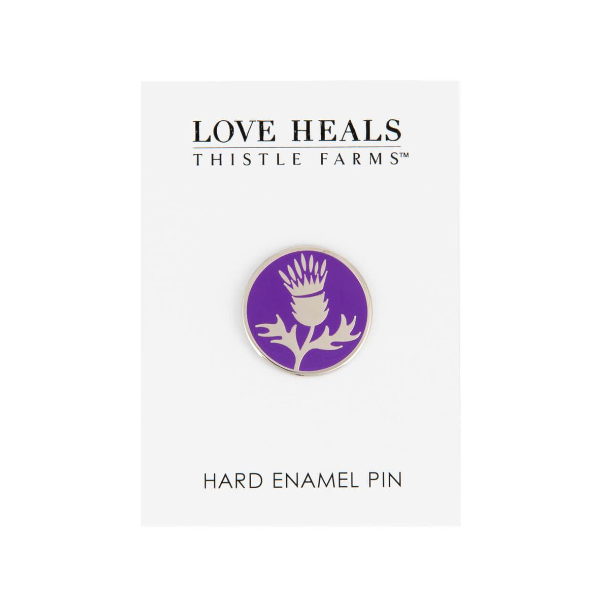 Thistle Enamel Pin