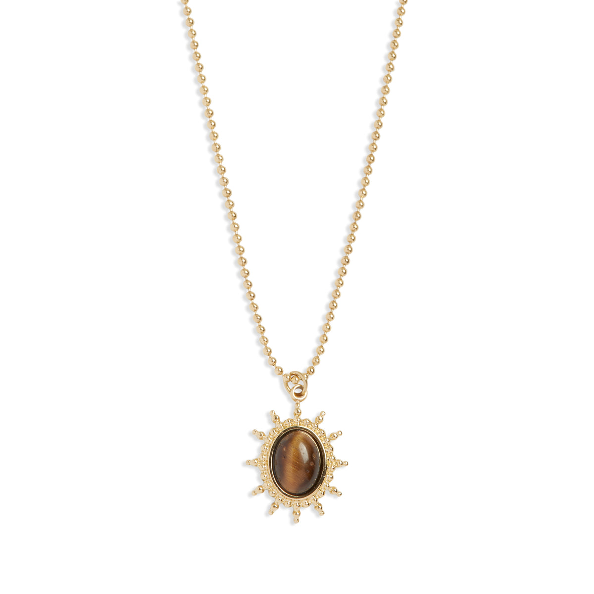 Courageous Tigers Eye Necklace