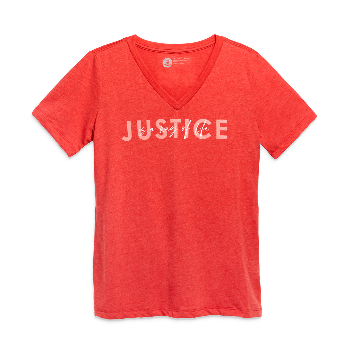 Justice Is a Way of Life Tee
