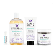 love heals thistle farms reenergize bath set eucalyptus mint handmade by women survivors