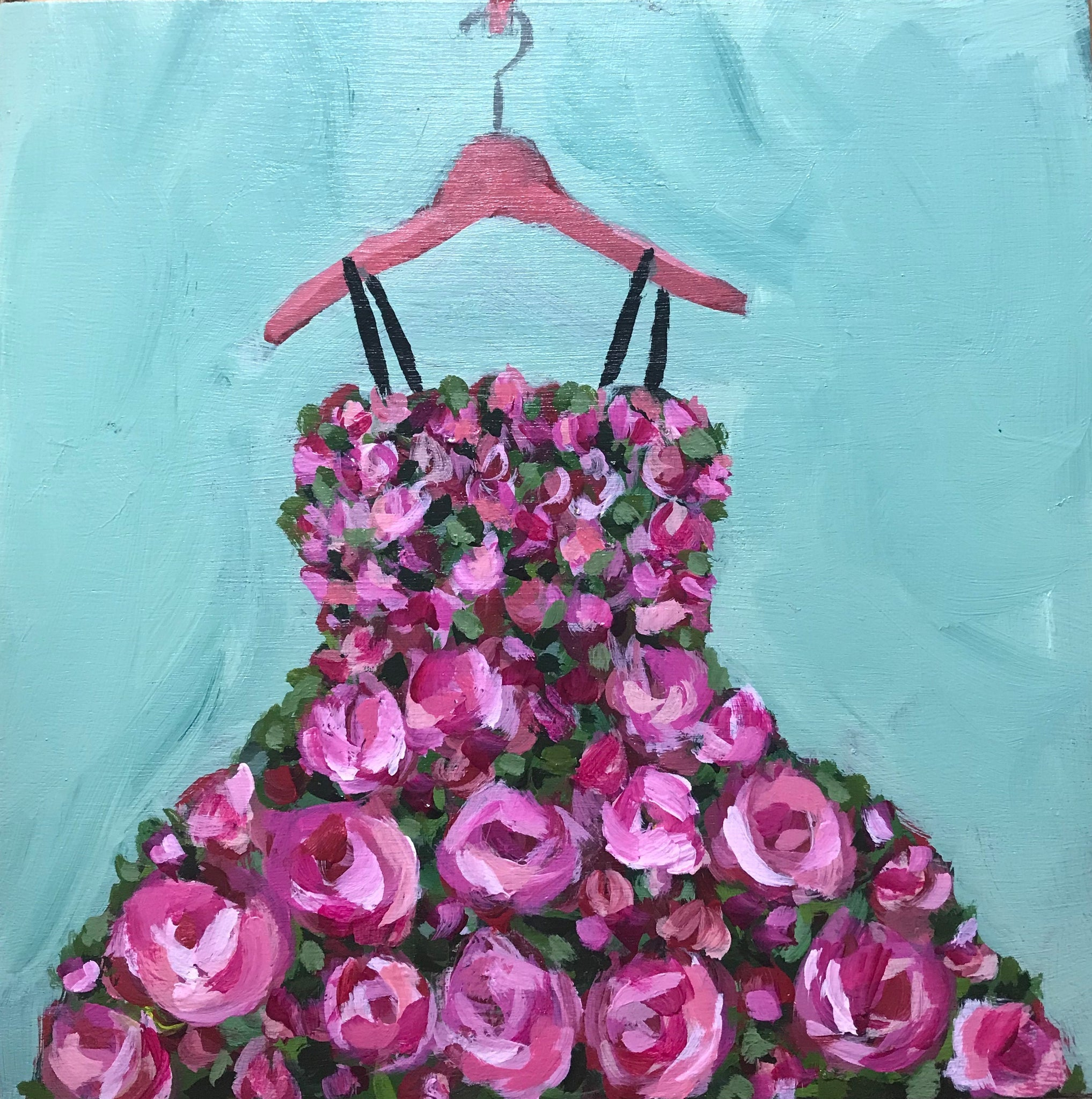 0420:  Dress Made of Roses