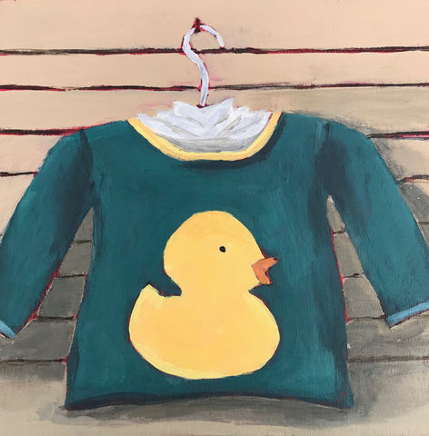0460:  While In Duck, Must Paint Duck