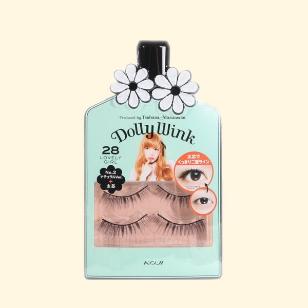 Dolly Wink Falsies (Natural & Volume - 28)