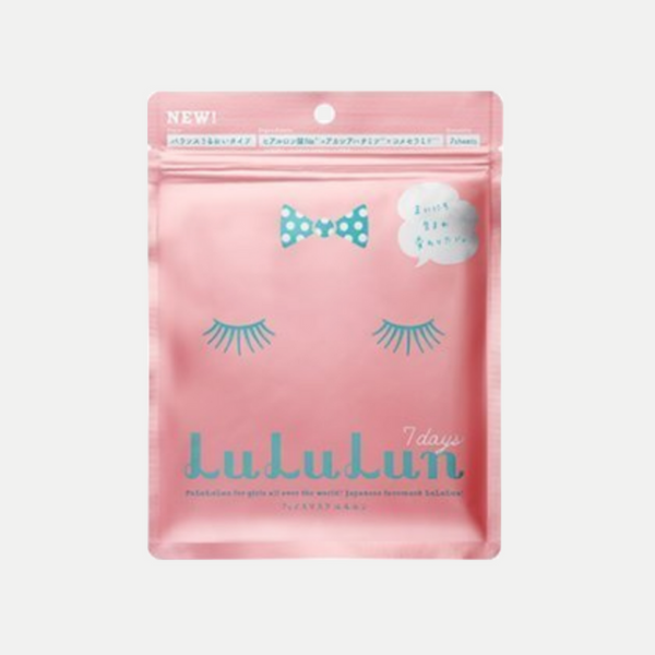 Lululun 7 Days Face Mask (Pink)