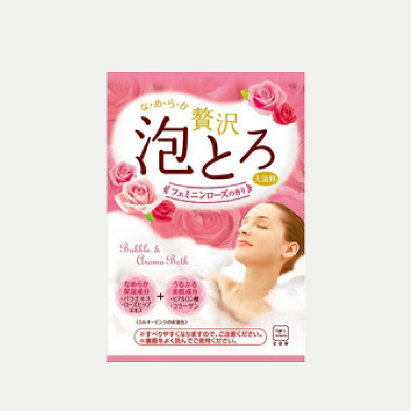 Awatoro Bubble Bath Powder (Rose)